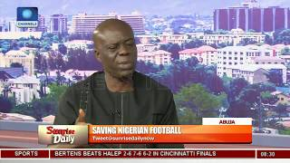 Nigeria Risk FIFA Ban Over NFF Leadership Row - Sports Journalist Pt 3   Sunrise Daily  