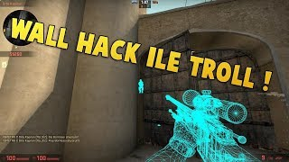 1 vs 1 Efsane Wall Hack Troll  😱😀😂