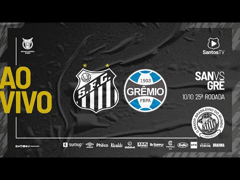 🔴 AO VIVO: SANTOS 1 x 0 GRÊMIO   BRASILEIRÃO (10/10/21)