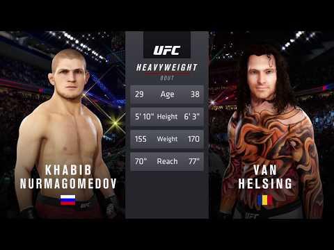 Khabib Vs. Van Helsing (EA Sports UFC 3)