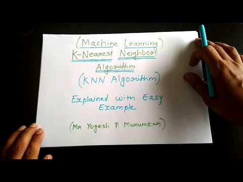 KNN Algorithm Explained With Simple Example   Machine Leaning