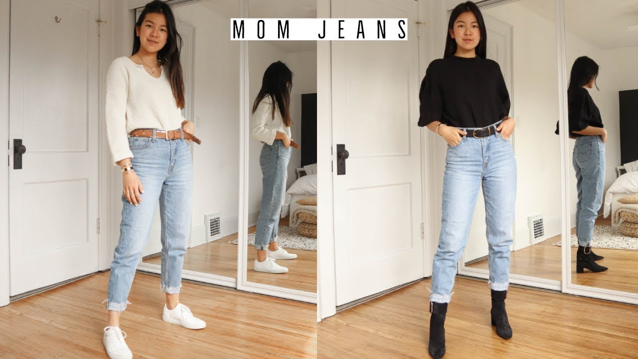 MOM JEANS  6 WAYS TO STYLE
