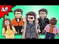 Custom Lego KINGSMAN Minifigures vs Movie Comparison Review