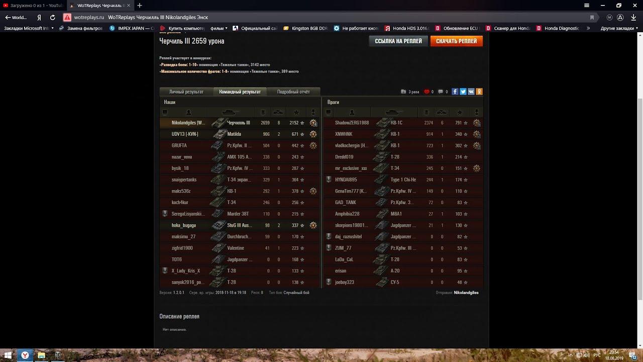 Черч III пулемет - YouTube