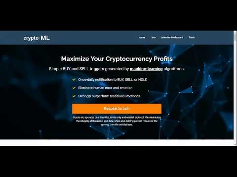Crypto-ML - How Machine-Learning Models for Bitcoin Trading