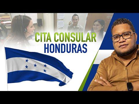 CITA CONSULAR EN HONDURAS
