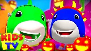 The Baby Shark Halloween Song | Halloween Music | Kids Songs | Scary Nursery Rhymes
