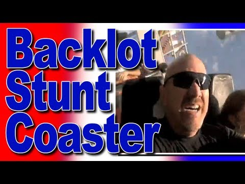 The Italian Job - Backlot Stunt Coaster POV \u0026 Review Canada's Wonderland