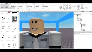 ROBLOX (how to put clothes on a skin by the studio) Tutorial 4