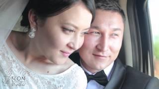 Свадебное видео, Актобе. Трогательная свадьба.