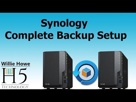 Synology Complete Hyper Backup Setup