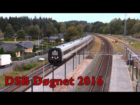 Med DSB Døgnet til Nordjylland