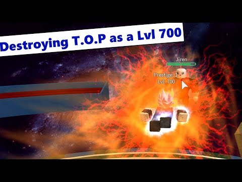 Lvl 700 Android Destroys T.O.P (Solo) | DBZ Final Stand