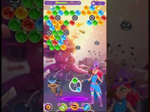 Bubble Witch 3 Saga Level 22 ~ 2 stars ~ no boosters
