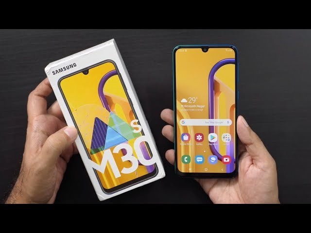 Samsung Galaxy M30s with 6000 mAh Unboxing & Overview