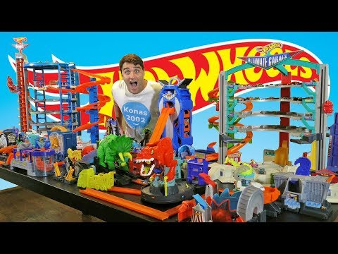 Worlds Biggest Hot Wheels City ! ! || Toy Review || Konas2002