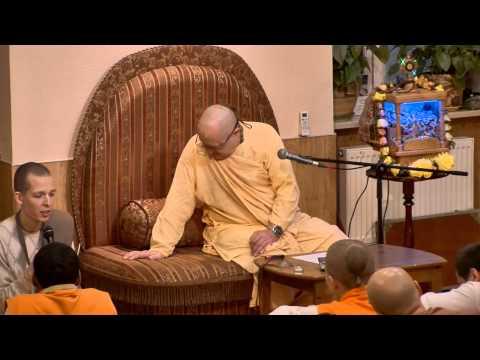Шримад Бхагаватам 4.4.9 - Бхакти Вишрамбха Мадхава Свами
