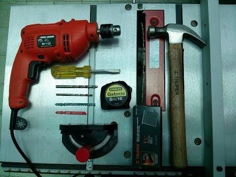 C mo hacer herramientas b sicas para carpinter a en for Casa para herramientas