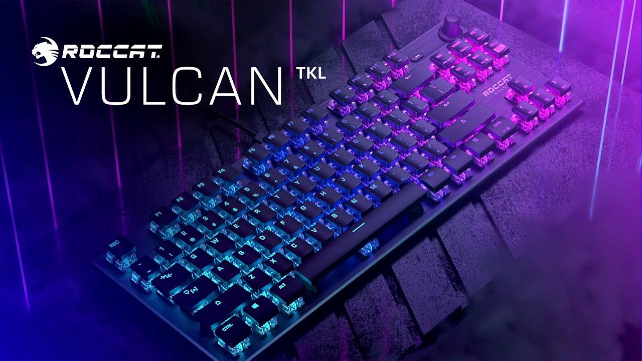 Le top des meilleurs claviers RGB pour gamer en 2021 - Roccat Vulcan TKL Pro