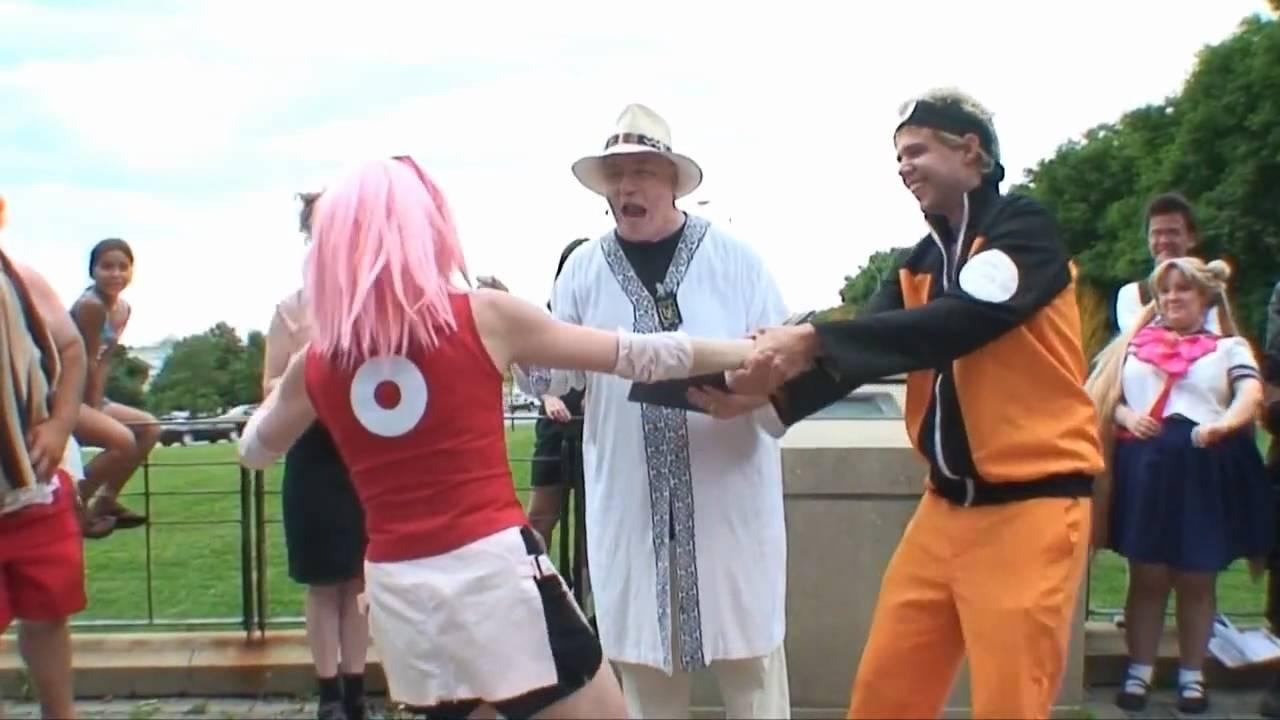 Soycon 3 Part 29 Cosplay Mock Weddings Naruto Sakura Youtube