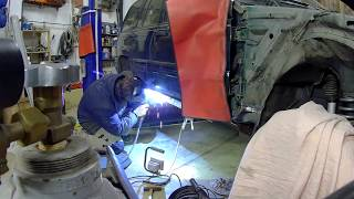 Jeep Grand Cherokee oprava prahu
