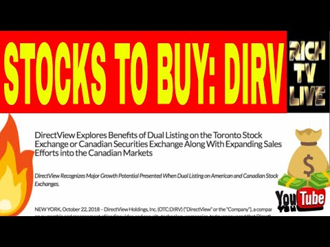 Stocks to buy: Direct View Holdings Inc (OTC: DIRV)