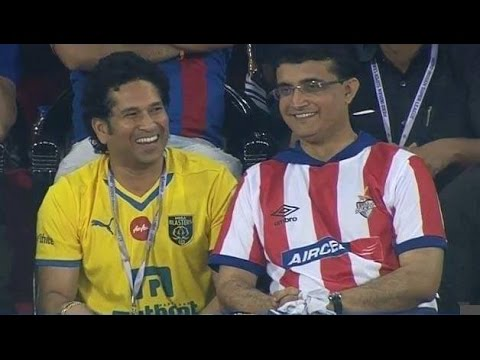 I will watch the match with Sachin Tendulkar : Sourav Ganguly