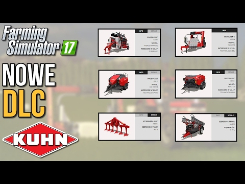 Dodatek KUHN - zawartość | Farming Simulator 17