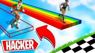 """NOOB VS HACKER! - FORTNITE """"IMPOSSIBILE MAP"""""""