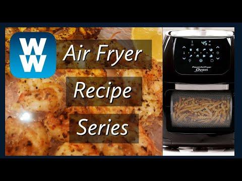 WW AIR FRYER SERIES | PARMESAN SHRIMP | SPINACH DIP CHICKEN | MYWW | WEIGHT WATCHERS!