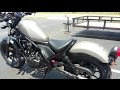 *Awesome Bike* 2017 Honda Rebel 500 walkaround.