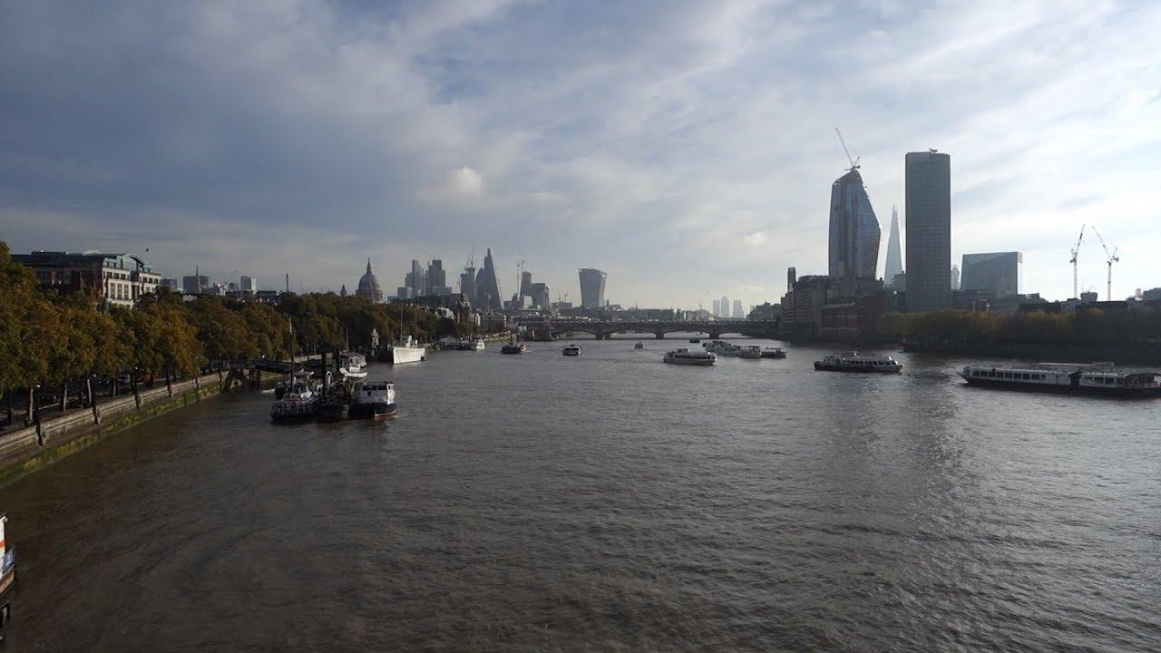 London Wandering The View From Waterloo Bridge