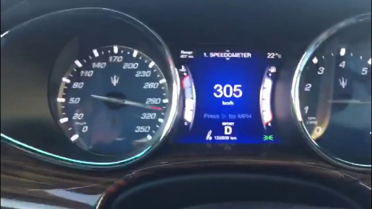 Maserati quattroporte top speed