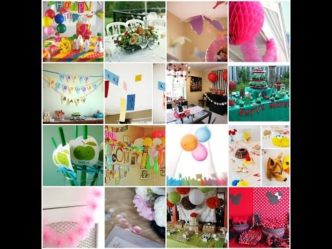 how to celebrate a birthday ,decoration & ideas.