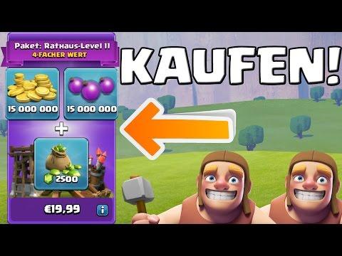 SUPERANGEBOT KAUFEN! || CLASH OF CLANS UPDATE || Let's Play CoC [Deutsch/German HD+]