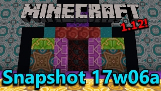 Minecraft 1.12 Snapshot 17w06a- Terracotta & Concrete Blocks, Improved Painting Selection!