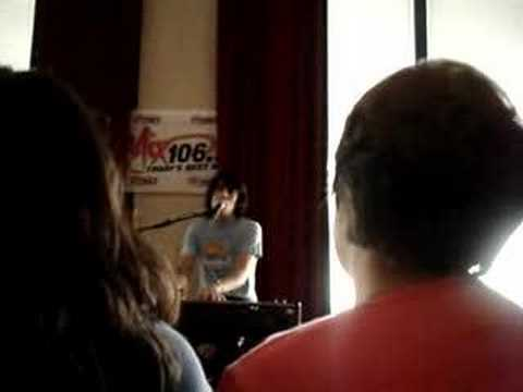 Teddy Geiger performing Gentlemen