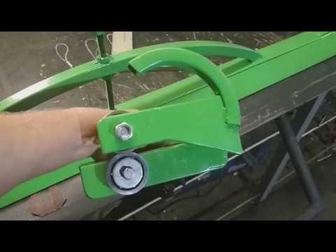 Как сделать роликовый нож для резки листового железа своими руками