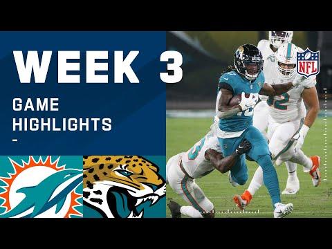 Dolphins vs. Jaguars Week 3 Highlights | NFL 2020