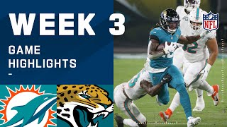 Dolphins vs. Jaguars Week 3 Highlights | NFL 2020