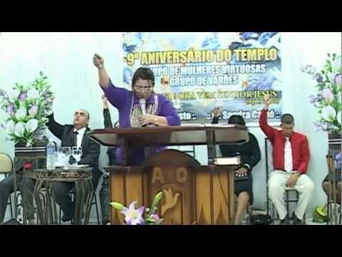 Pastora Sandra Cainó - Maranata, ora vem Senhor Jesus !