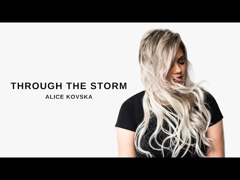 Alice Victorya - Through The Storm (Lyric Video)