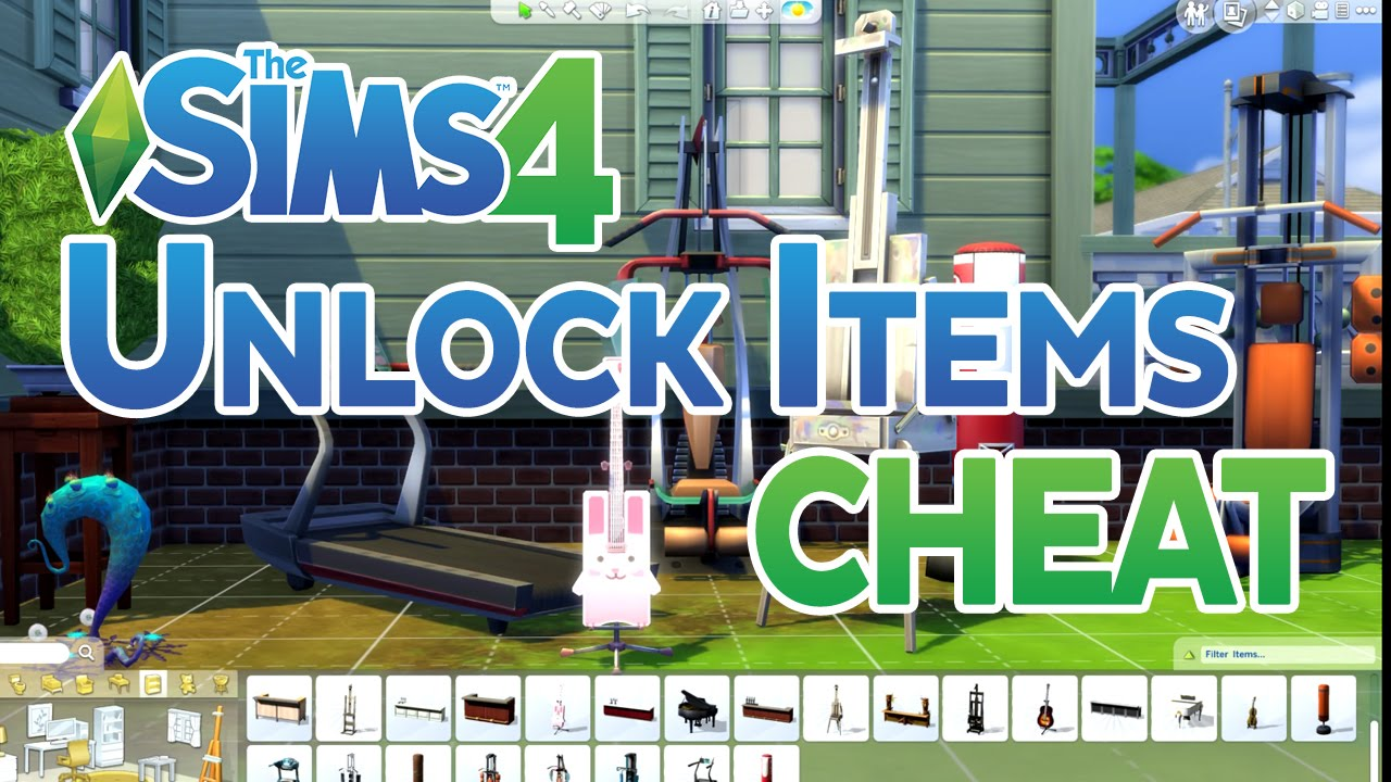 Sims  Unlock Build Mode