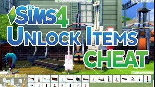 The Sims 4 Cheat: Unlock All Career Locked Items in Build Mode