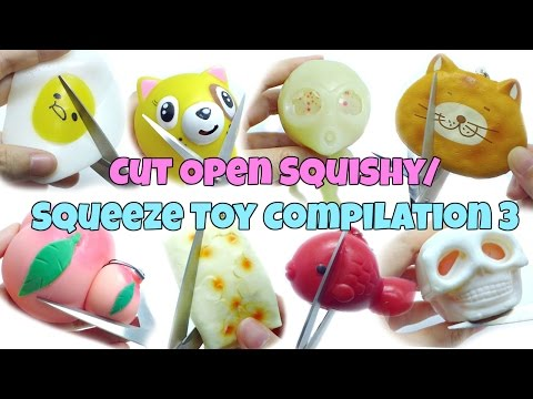 Cut Open Squishy / Squeeze Toy Compilation 3 [ASMR Edition]