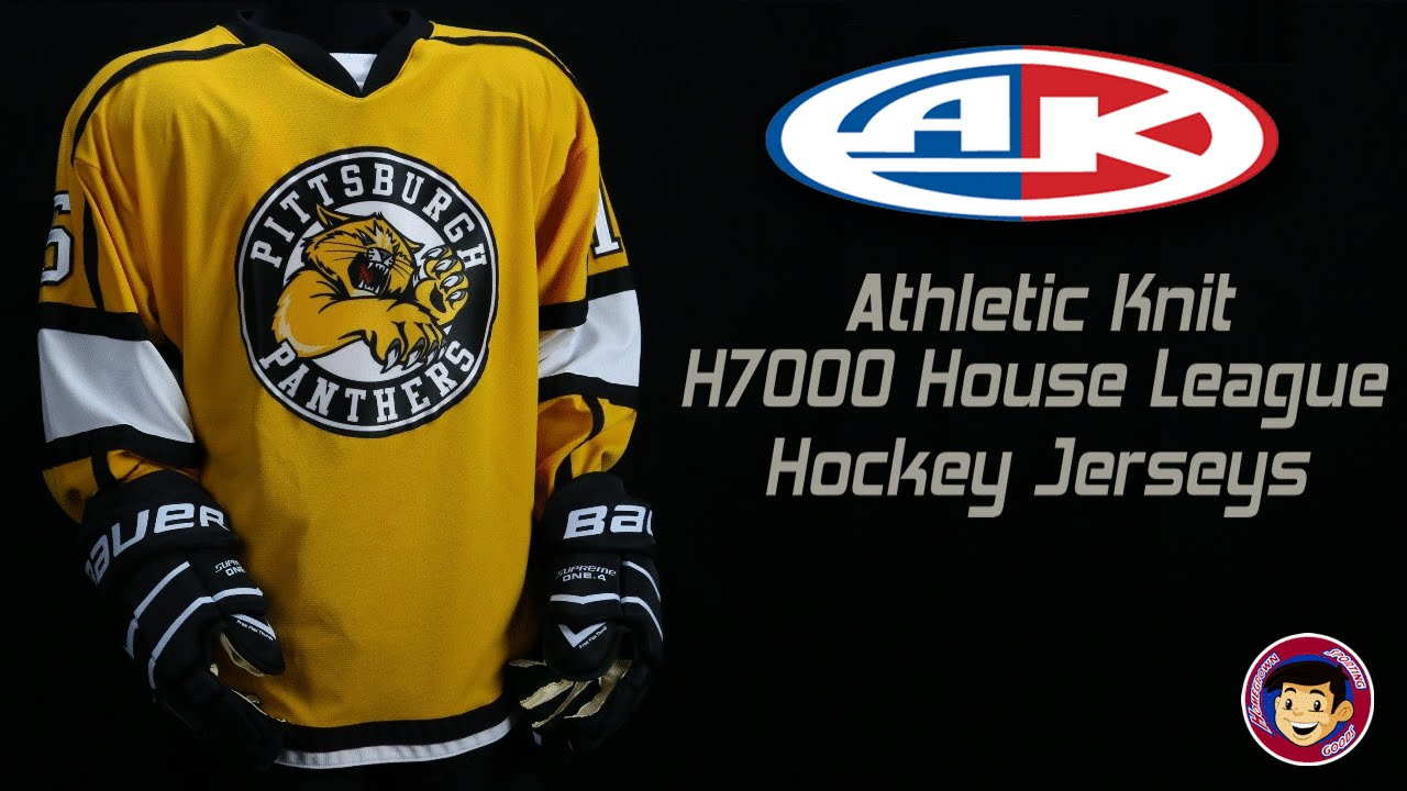 efb9bd75acd Athletic Knit H7000 House League Hockey Jerseys - Homegrown Sporting Goods  - YouTube