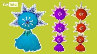 152) Ide kreatif - Amazing Woolen Design    Woolen Craft idea    Home Decor    best of waste