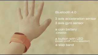 Moff band, wearable smart toy
