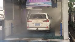 Automatic touchless car wash system dirty car washing machine