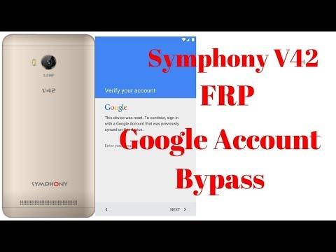 Symphony V42 SP7731CEB  Google Account Byapps Ayna Telecom & Computer
